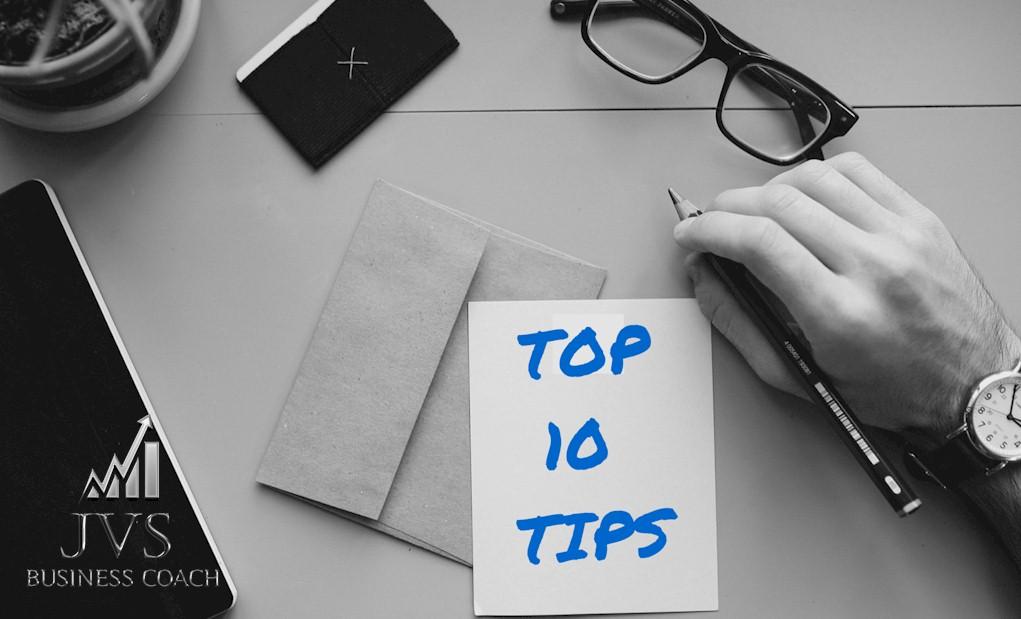 Top 10 ondernemersTips