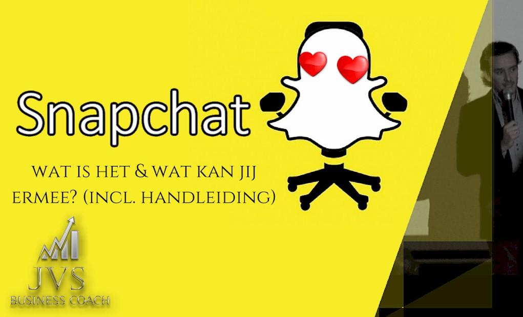 Snapchat: Wat is het & hoe kan JIJ het gebruiken? (incl. Handleiding)