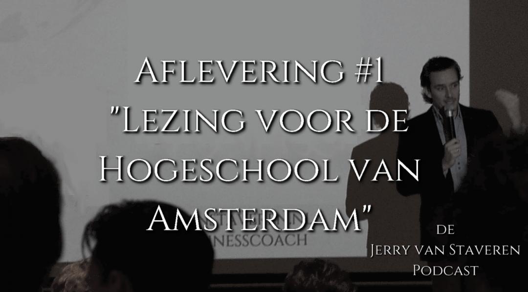 JVSP01 Lezing voor de Hogeschool van Amsterdam