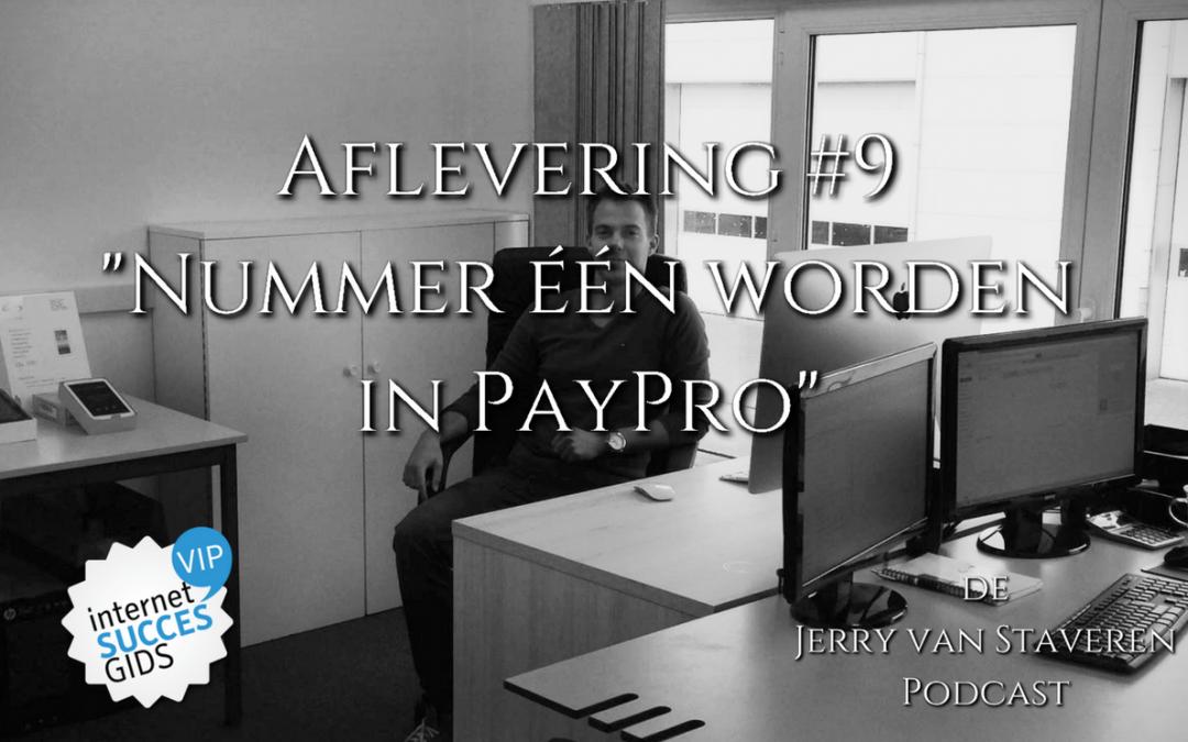 JVSP09 NUMMER EEN WORDEN IN PAYPRO