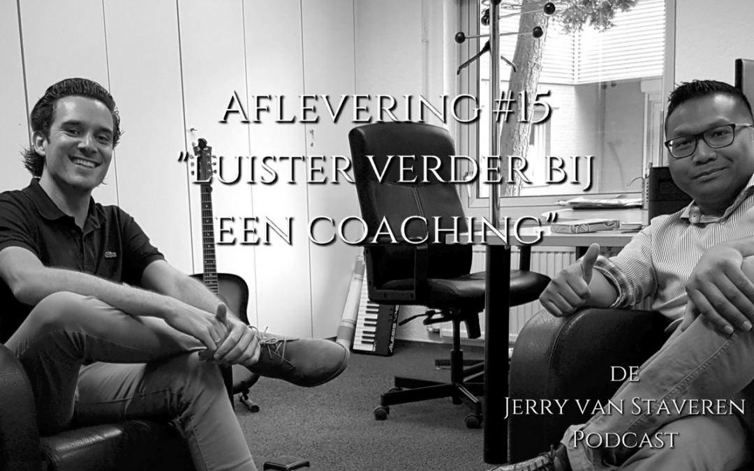 JVSP15 LUISTER VERDER BIJ EEN COACHING
