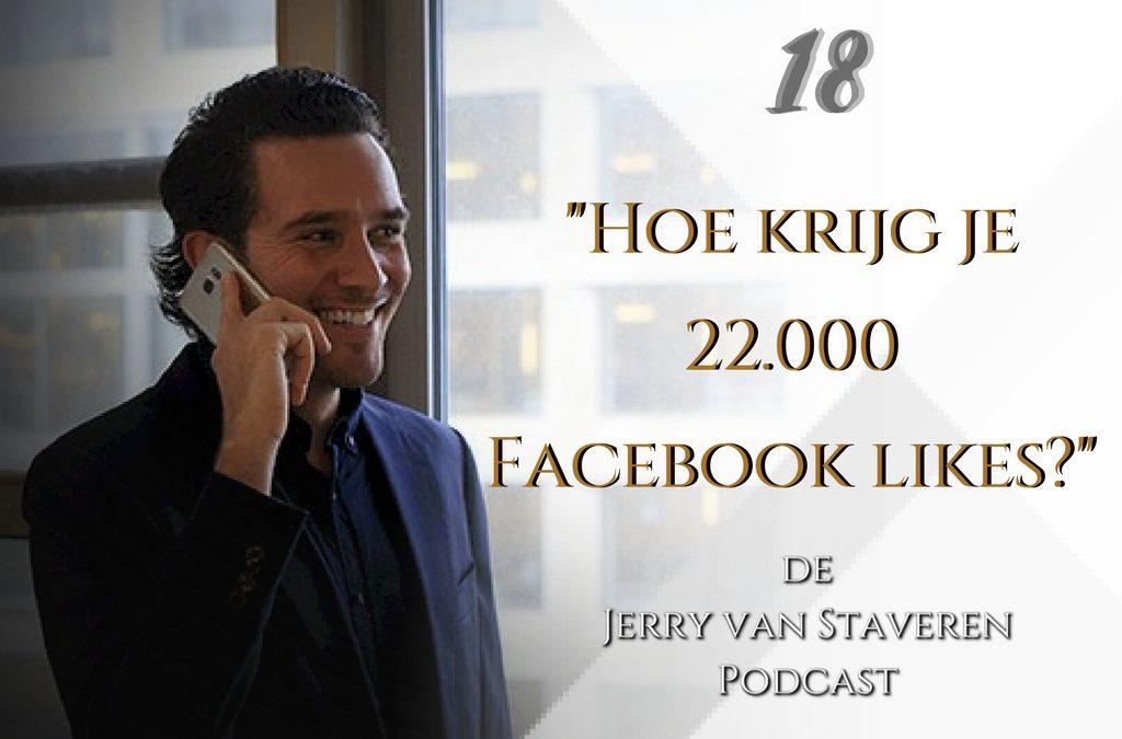 JVSP18 HOE KRIJG JE 22.000 FACEBOOK VOLGERS