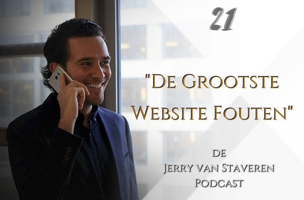 JVSP21 DE GROOTSTE WEBSITE FOUTEN