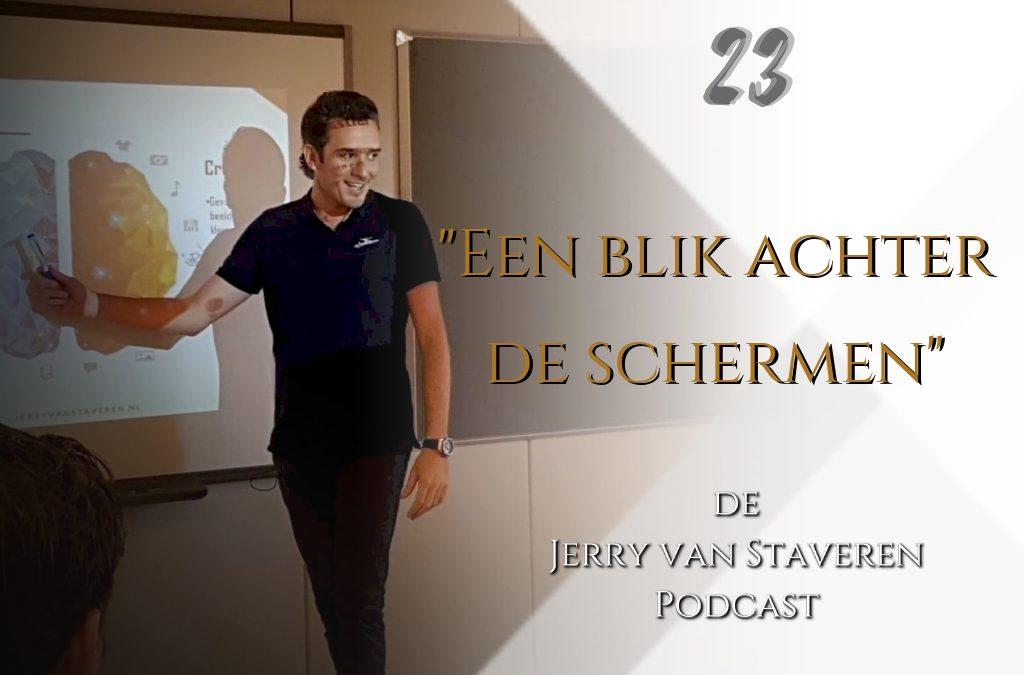 #JVSP23 | EEN BLIK ACHTER DE SCHERMEN | DEEL 1