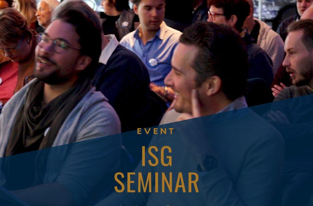 ISG Seminar [event]