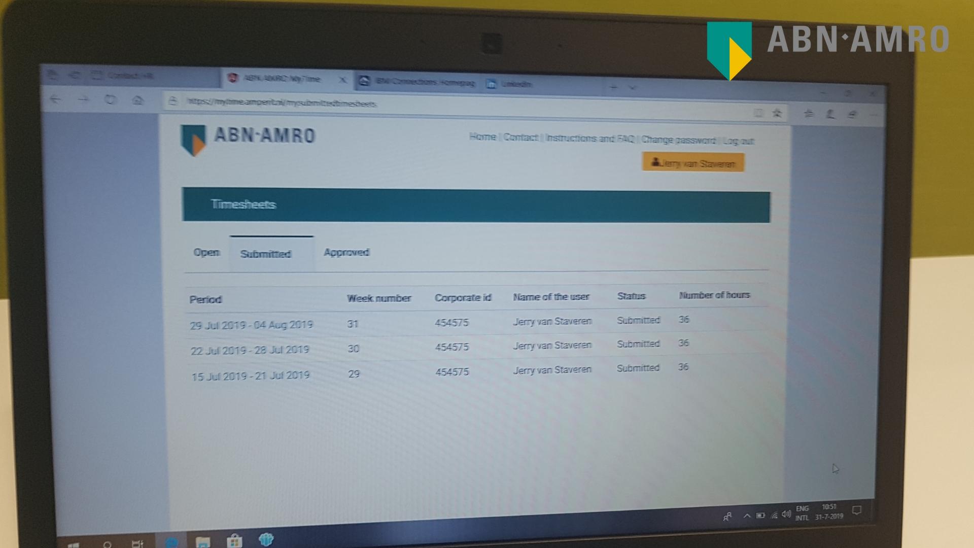 ABN AMRO - Project Senior Implementatie Consultant - Jerry van Staveren 4